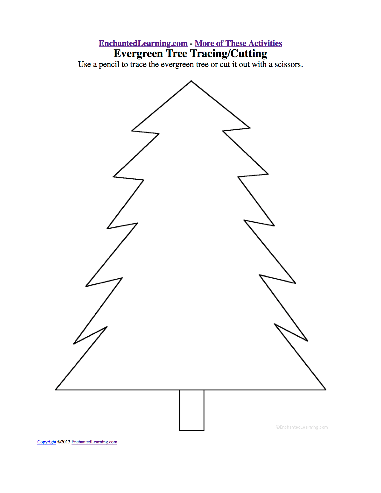 16 Best Images Of Winter Line Tracing Worksheets