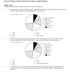 pie chart worksheets for grade 5 pdf - Zerse [ 1650 x 1275 Pixel ]