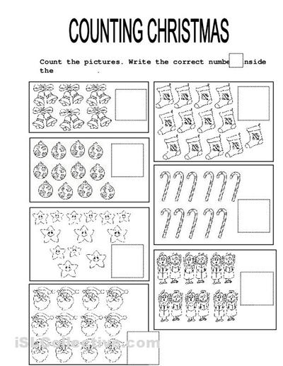 15 Best Images of Christmas Math Worksheets Elementary