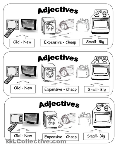 15 Best Images of Adjective Worksheets For Elementary