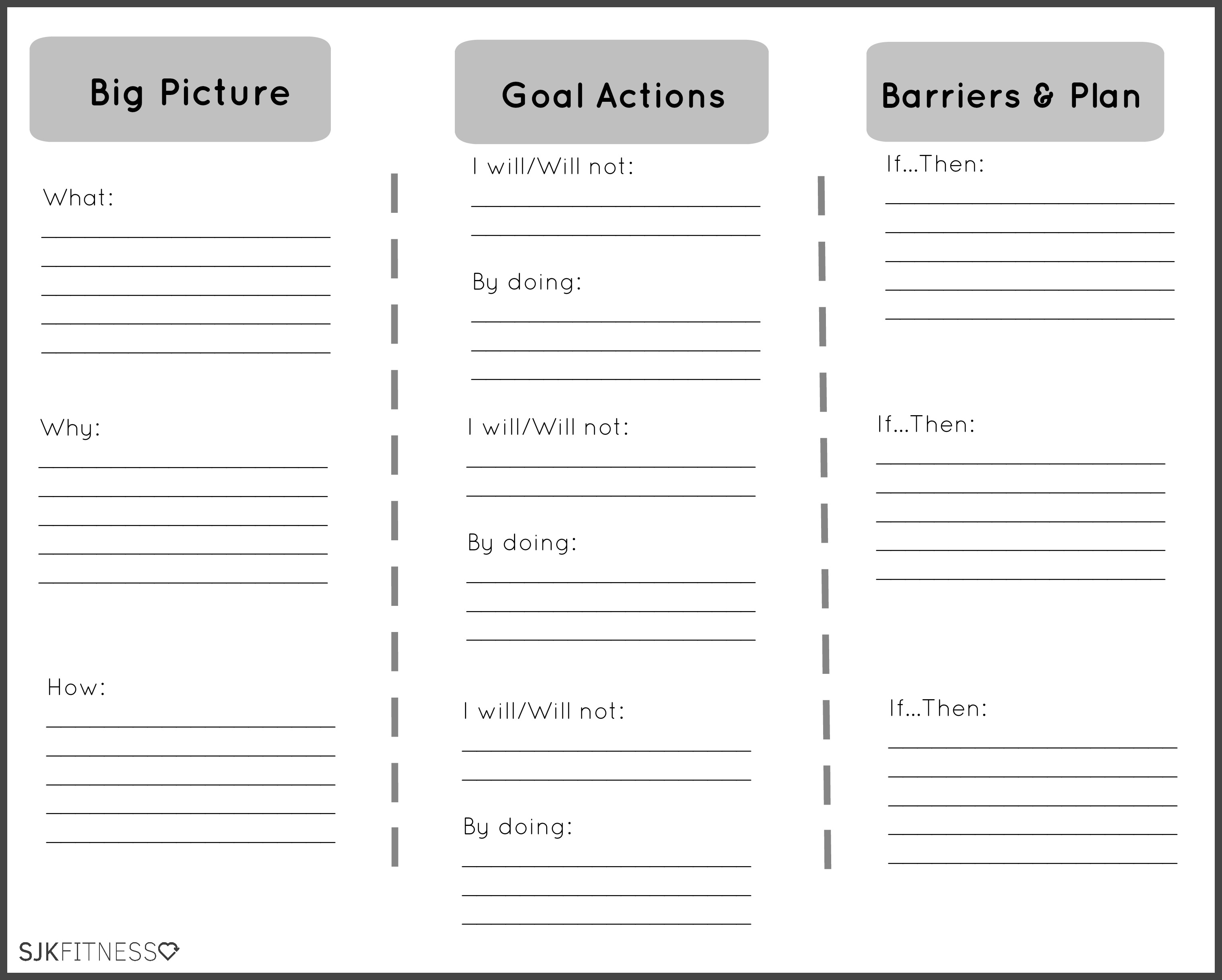 12 Best Images Of Healthy Lifestyle Printable Worksheet