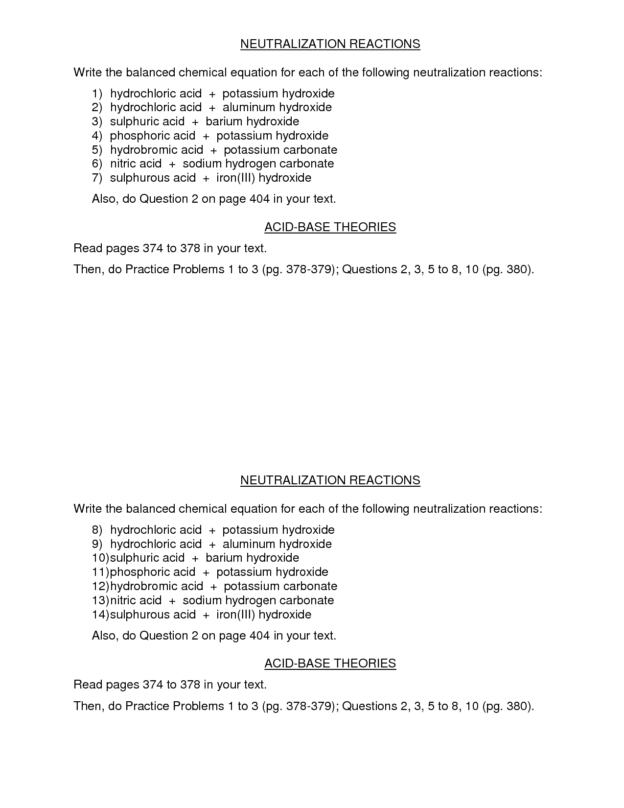 28 Acid Rain Worksheet Answers