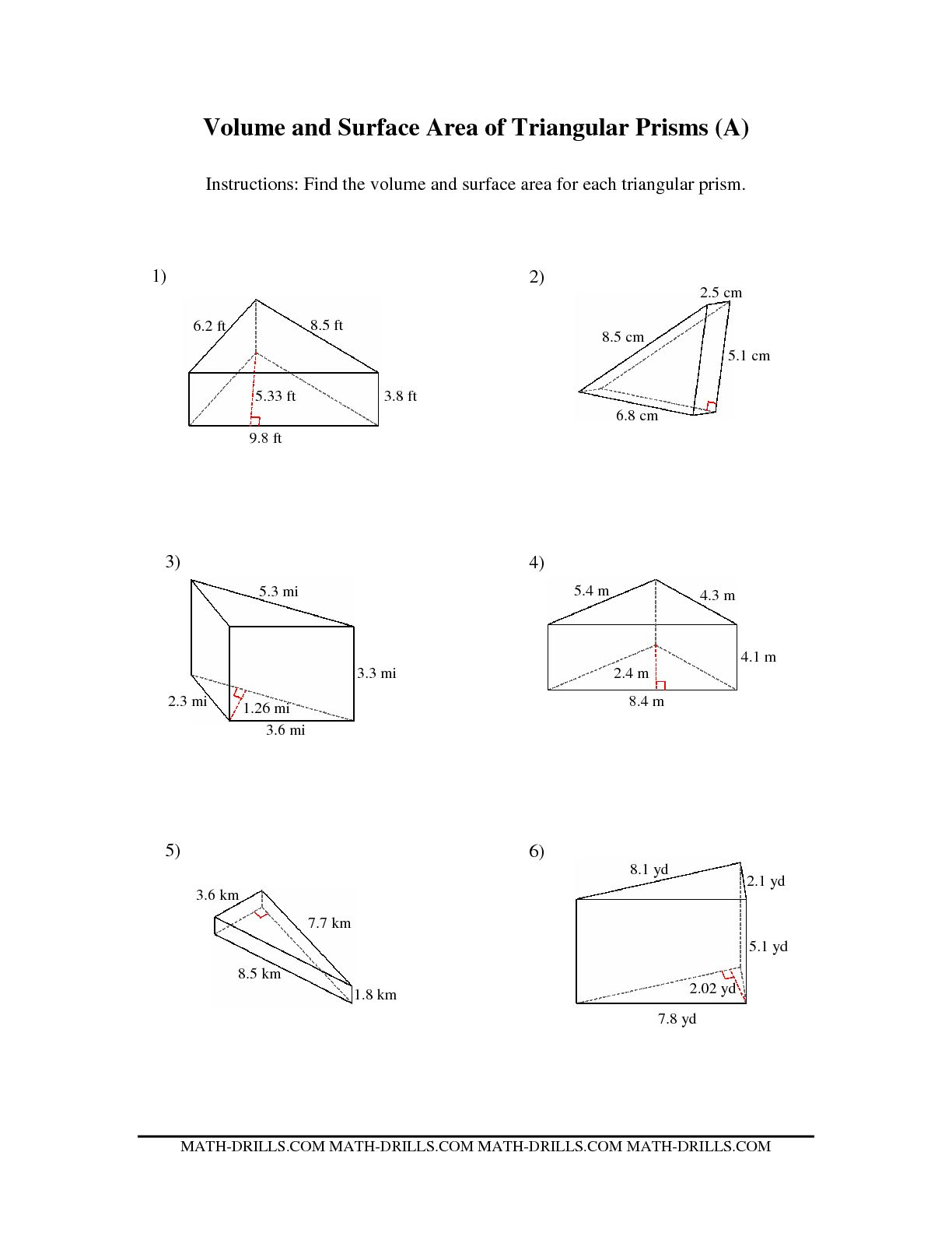 8 Best Images Of Area Rectangular Worksheets