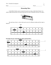 16 Best Images of Triple Beam Balance Worksheet Problems ...