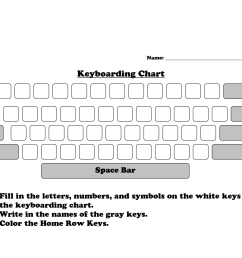 Color Keyboard Worksheet   Printable Worksheets and Activities for  Teachers [ 1275 x 1650 Pixel ]