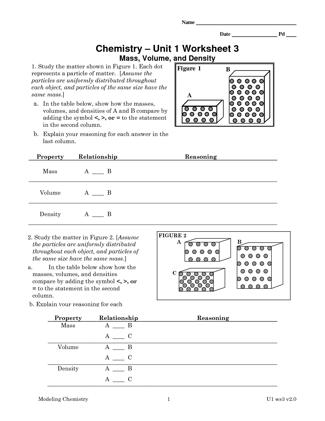 34 Chemistry Review Worksheet Answer Key