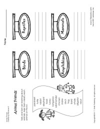 10 Best Images of 1st Grade Science Worksheets Classifying ...