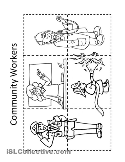 12 Best Images of Jobs In The Community Worksheet