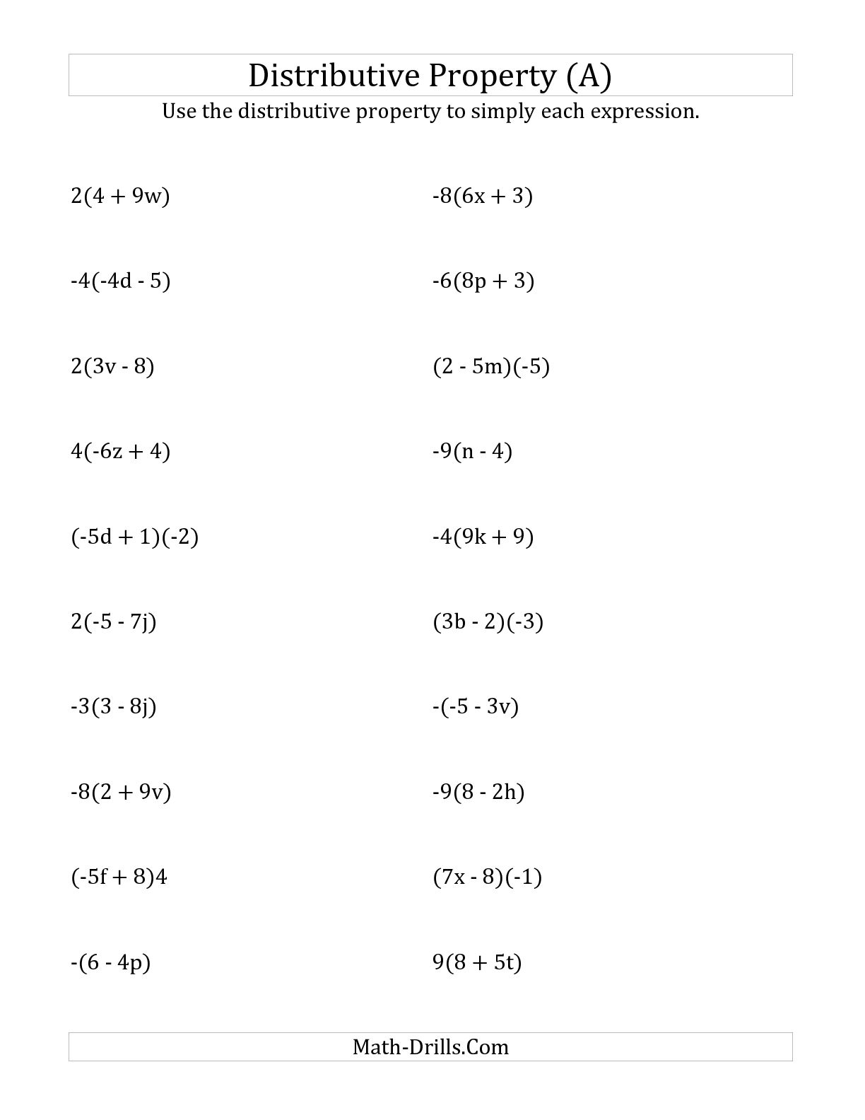 15 Best Images Of Math Worksheets Exponents