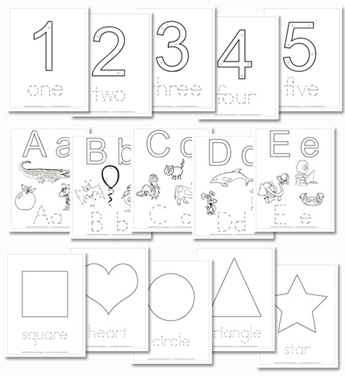 8 Best Images of ABC Pattern Worksheets Kindergarten