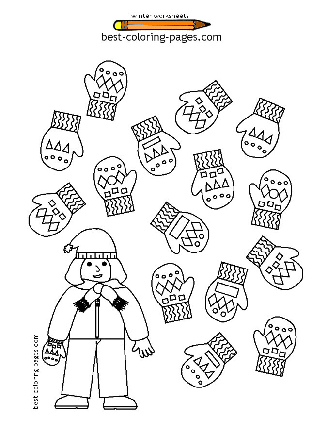 12 Best Images of Winter Worksheets Printables And