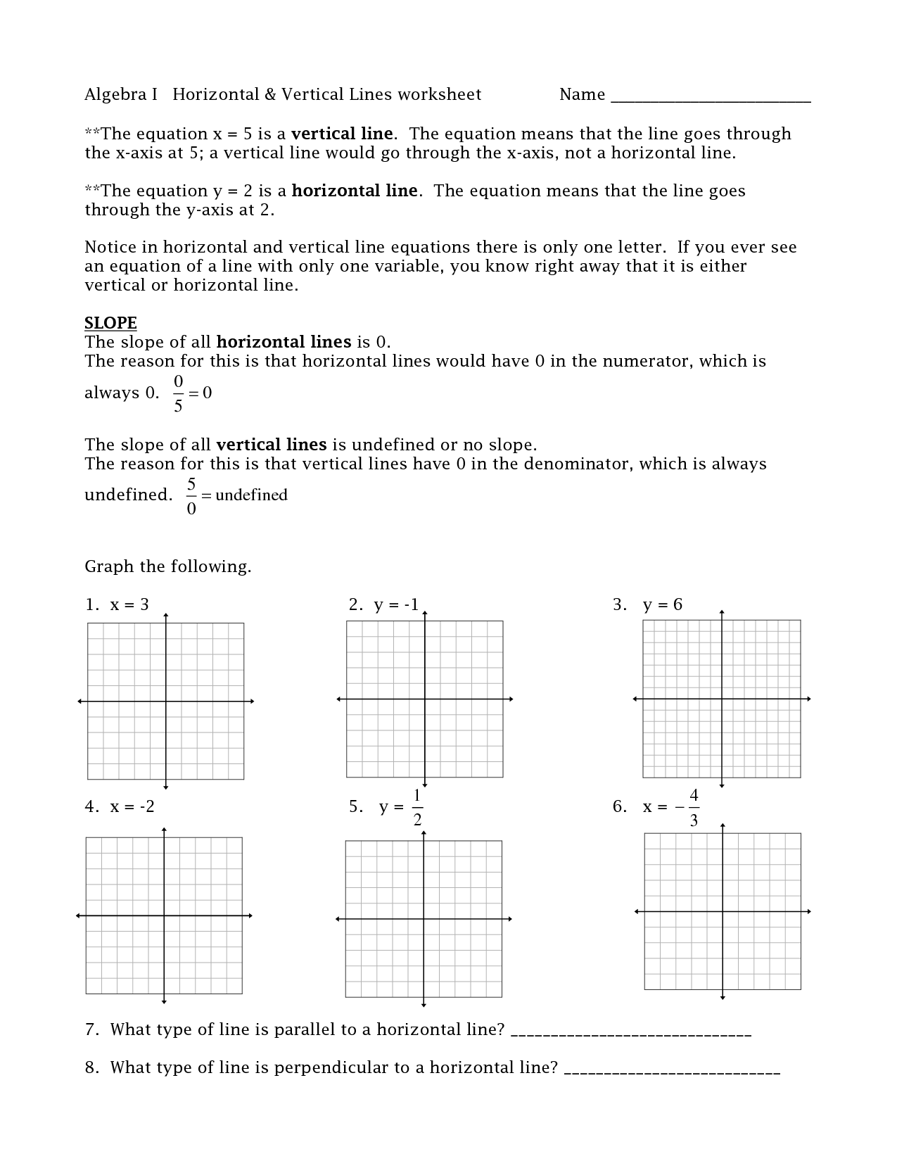 11 Best Images Of Horizontal Line Worksheets