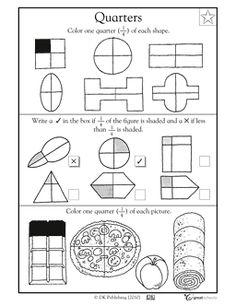 14 Best Images of Shape Attributes 1st Grade Worksheets