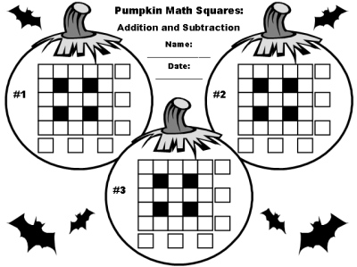 14 Best Images of Halloween Math Addition Coloring