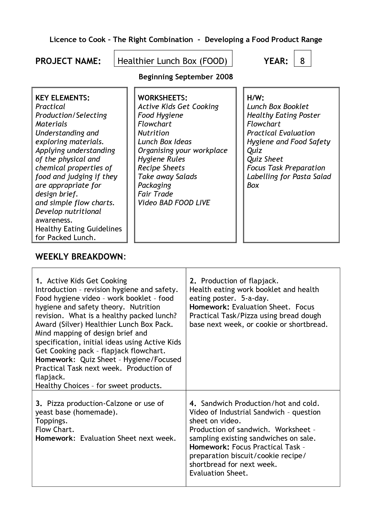 11 Best Images Of Food Safety Printable Worksheets