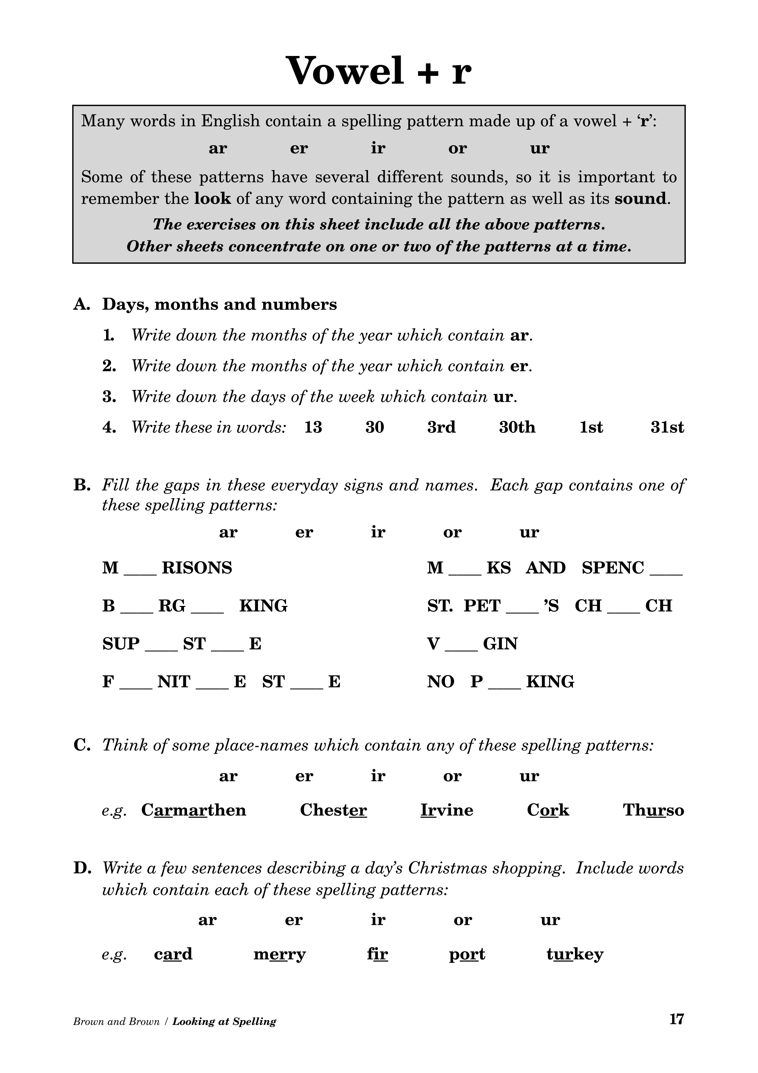 15 Best Images Of Dyslexia Math Worksheets