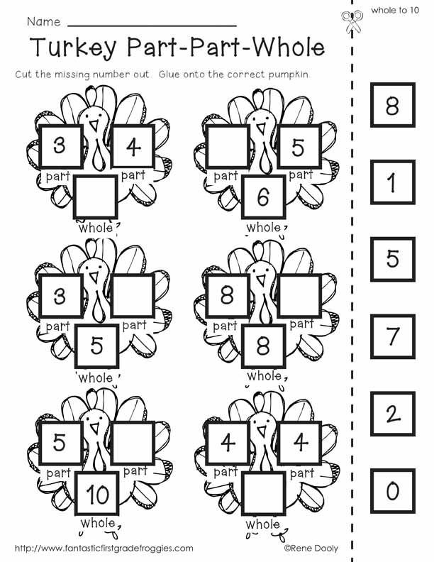 15 Best Images of Thanksgiving Worksheets For First Grade