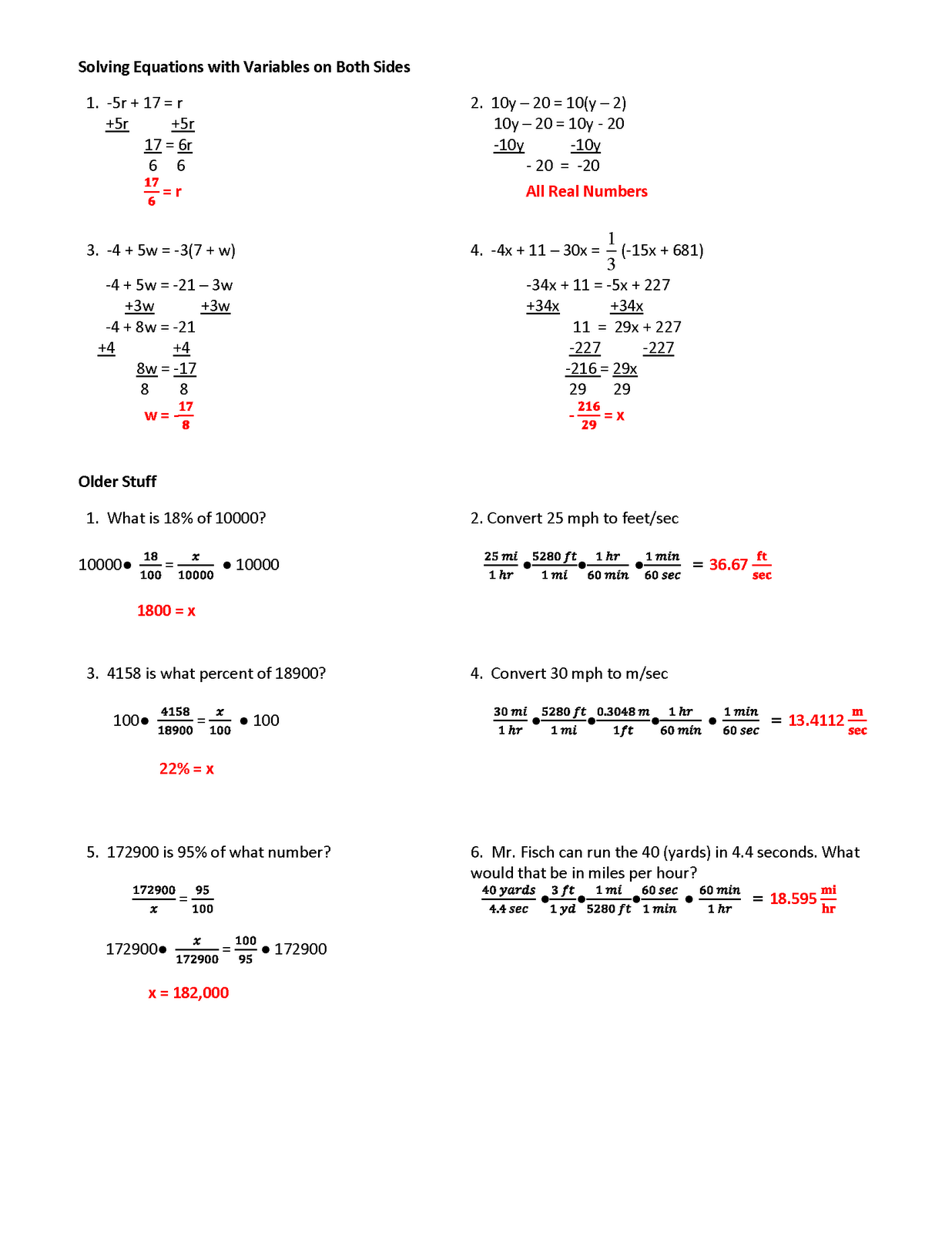 12 Best Images Of Graph Linear Equations Worksheet Answers