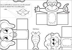 14 Best Images of Wild Animal Preschool Worksheets