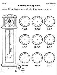 17 Best Images of 1st Grade Clock Worksheets - Telling ...