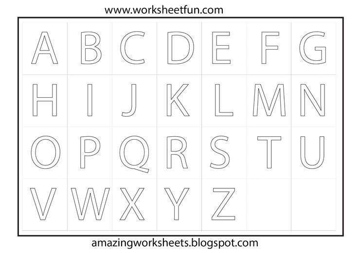 15 Best Images of AZ Phonics Worksheets For Kindergarten
