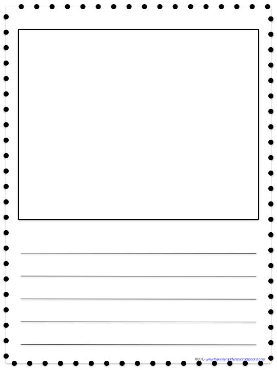 Kindergarten Drawing Templates