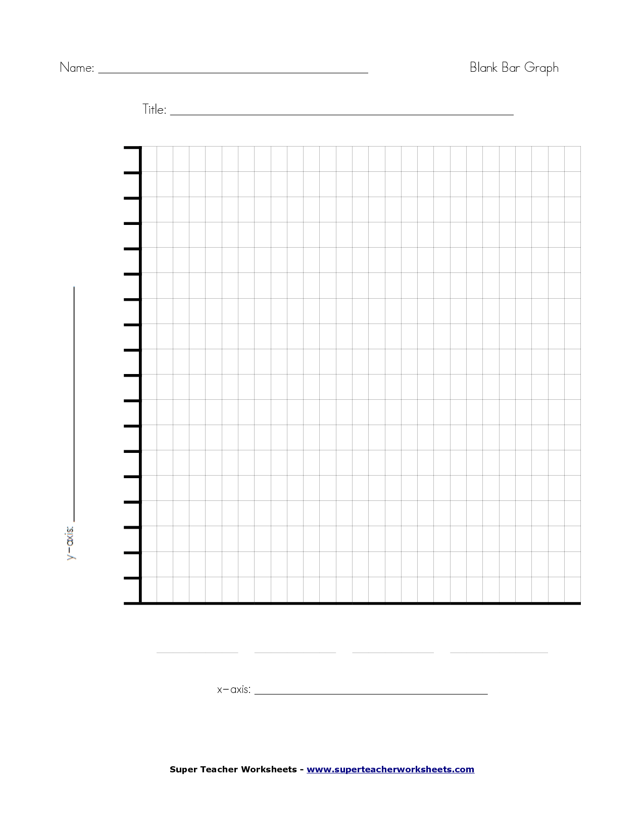 19 Best Images Of Super Teacher Worksheets Bar Graph