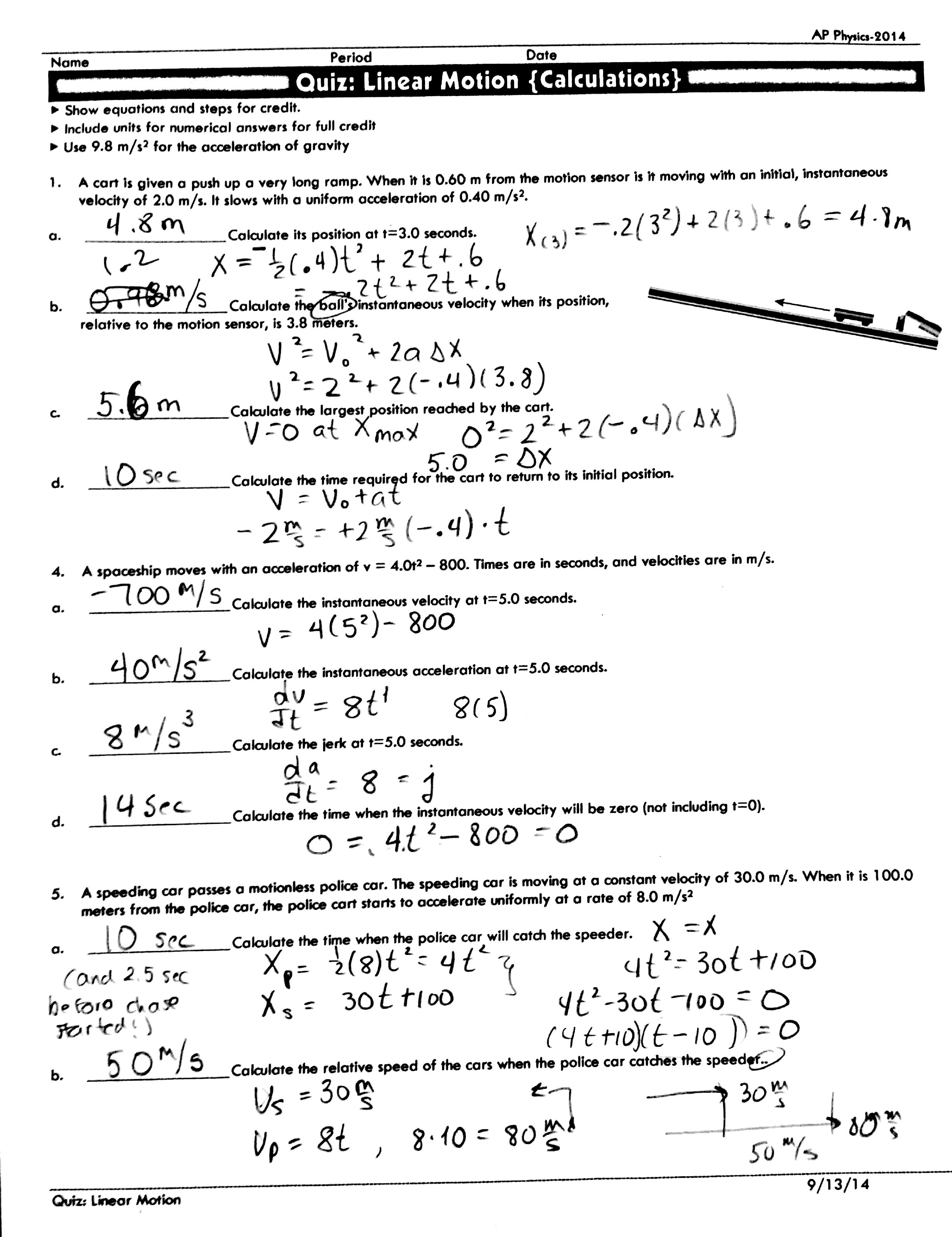 18 Best Images Of Wave Calculations Worksheet Answers