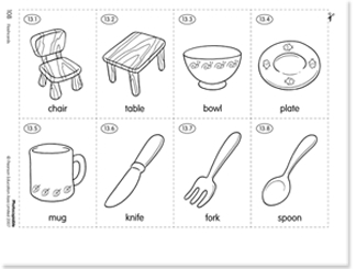 Chapter 9 Kitchen Utensils Worksheet. kitchen utensils