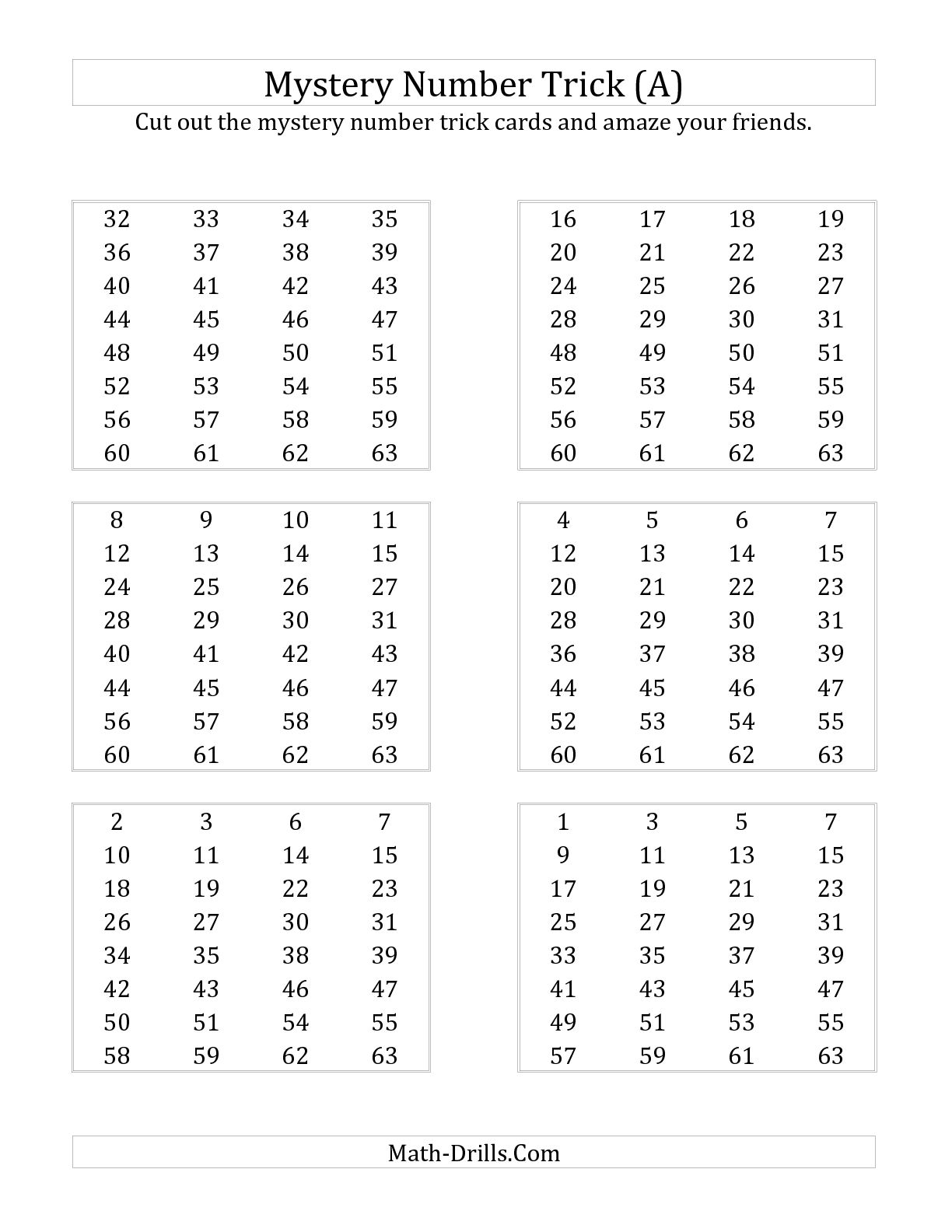 10 Best Images Of Number Detective Math Worksheet