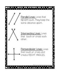 13 Best Images of Parallel Perpendicular And Intersecting