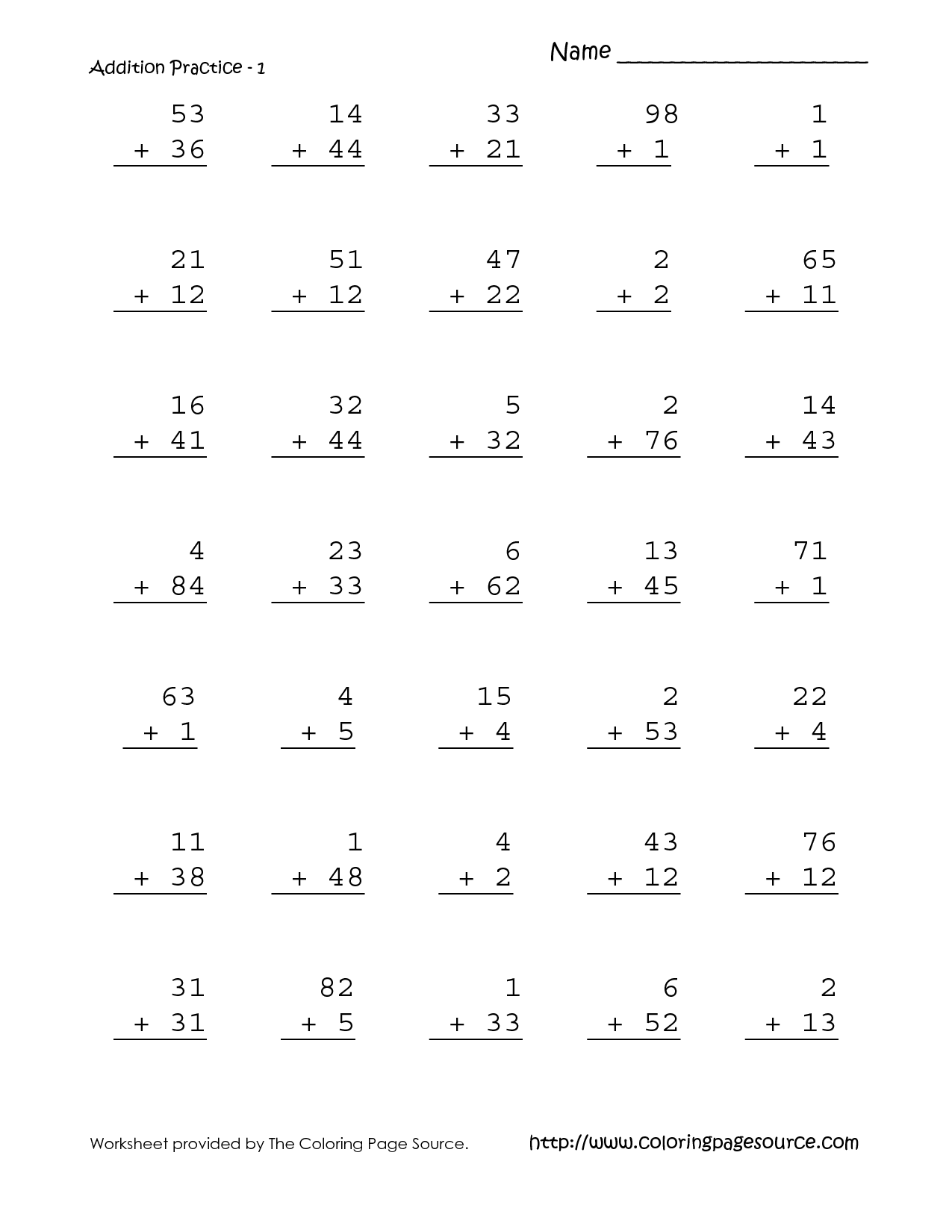 12 Best Images Of Math Worksheets Subtraction 1st Grade