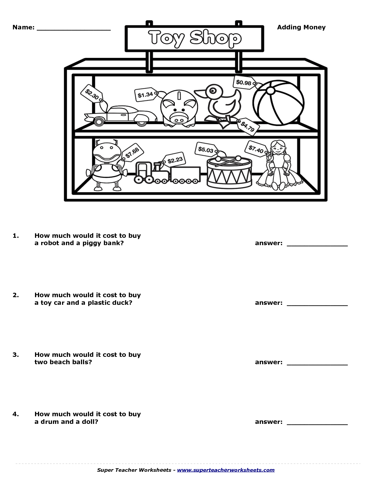 13 Best Images Of Super Teacher Worksheets Math Answers