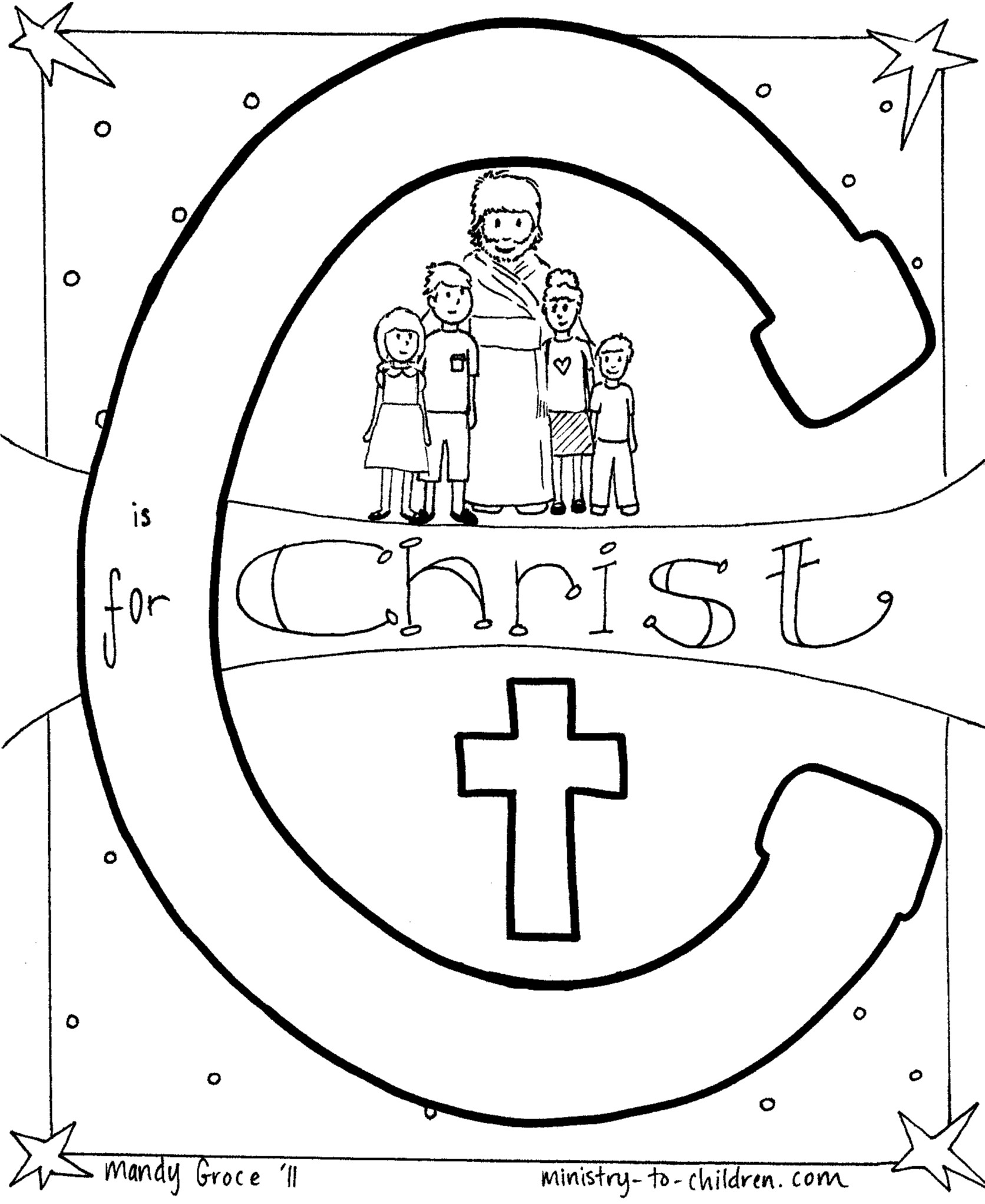 11 Best Images Of C Is For Christmas Worksheet