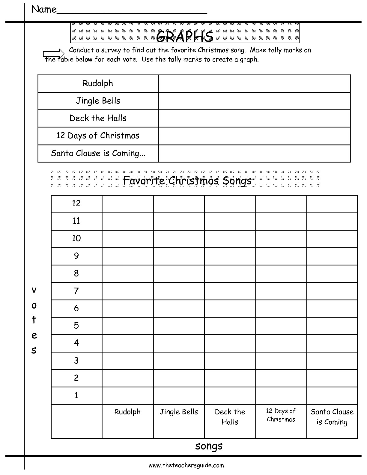Christmas Math Worksheet 5th Grade