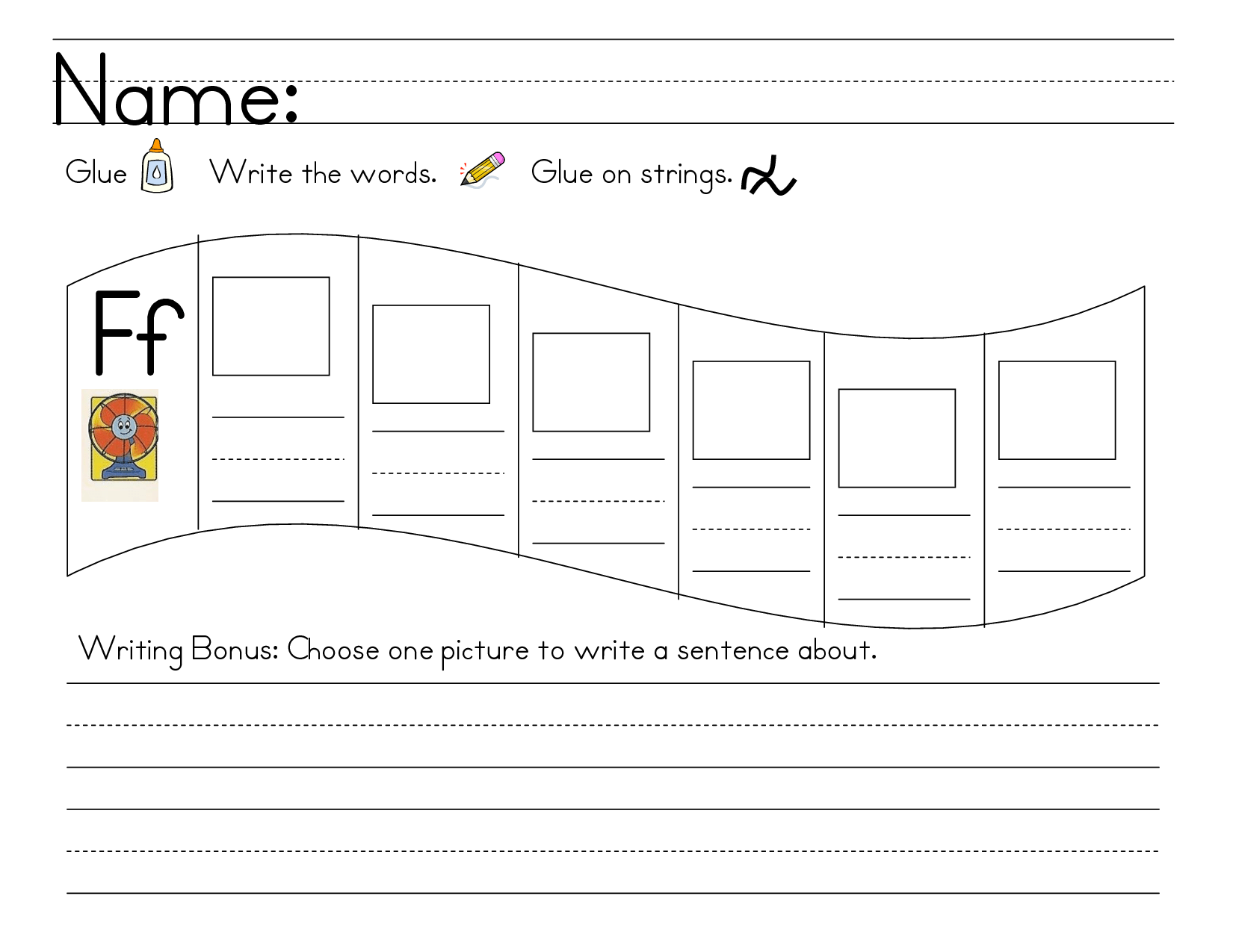 17 Best Images Of Worksheets For Kindergarten W