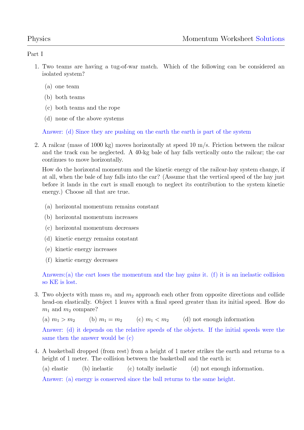 19 Best Images Of Law Of Conservation Of Energy Worksheet