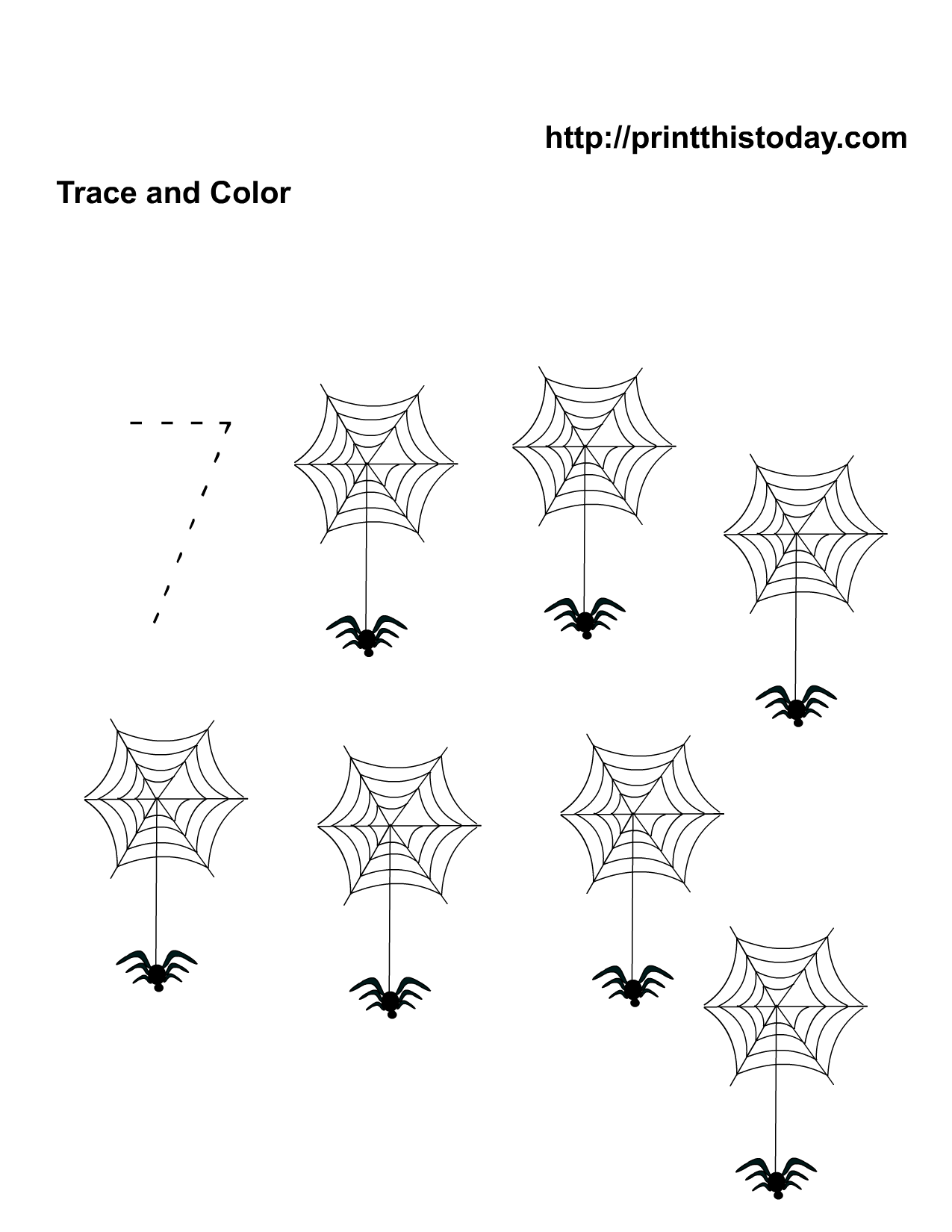 14 Best Images Of Free Printable Halloween Counting