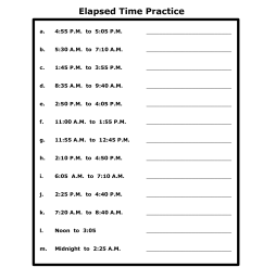 Word Problem Time Worksheets   Printable Worksheets and Activities for  Teachers [ 1650 x 1275 Pixel ]