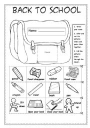 15 Best Images of First Day Of School Worksheets 1st Grade