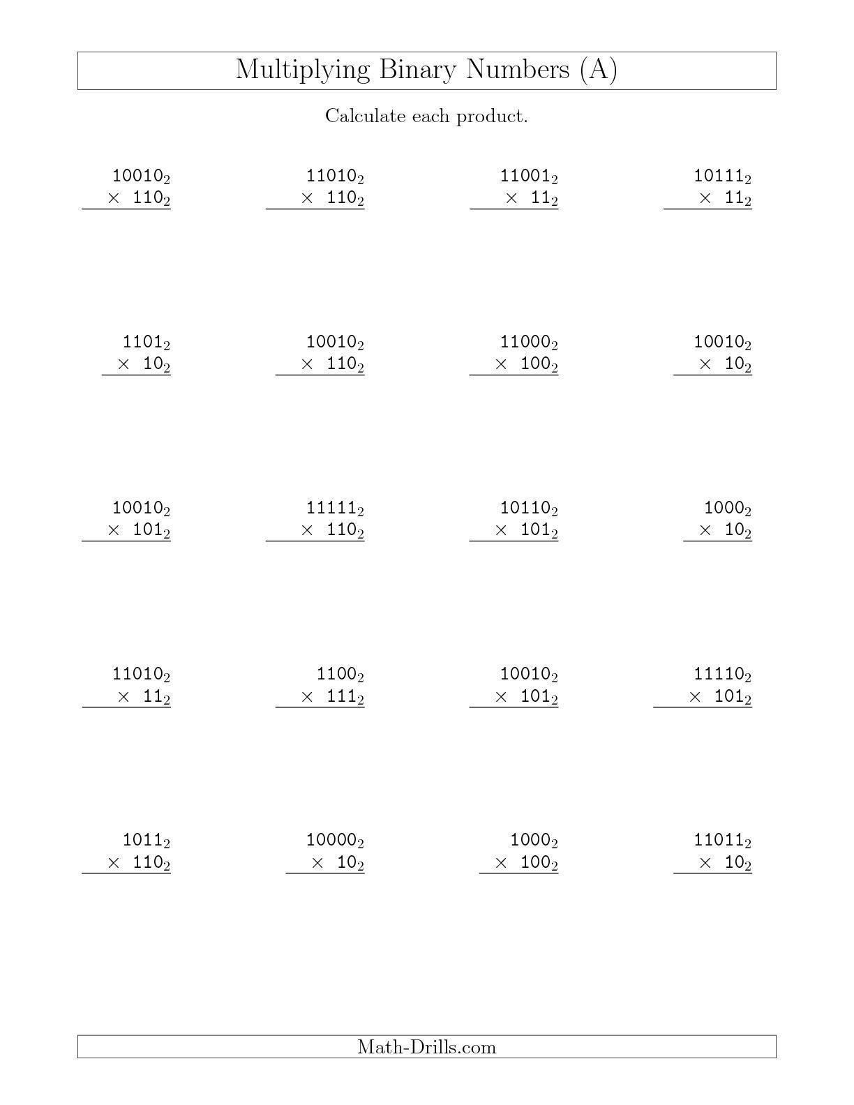 13 Best Images Of 2 Digit Multiplication Worksheet