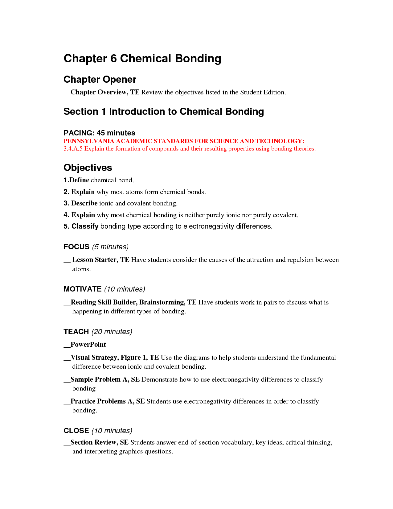 14 Best Images Of Worksheet Elements And Bonding