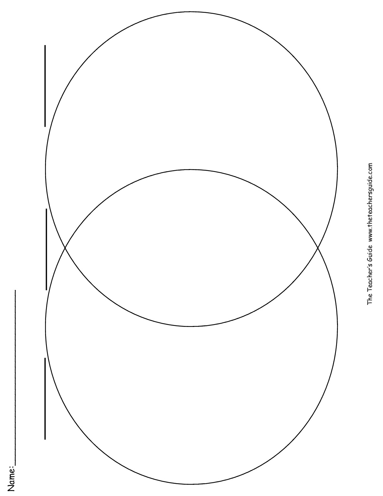 venn diagram graphic organizer 2 single coil pickup wiring 15 best images of blank compare and contrast worksheets