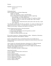 14 Best Images of Genetics Problems Worksheet With Answer ...
