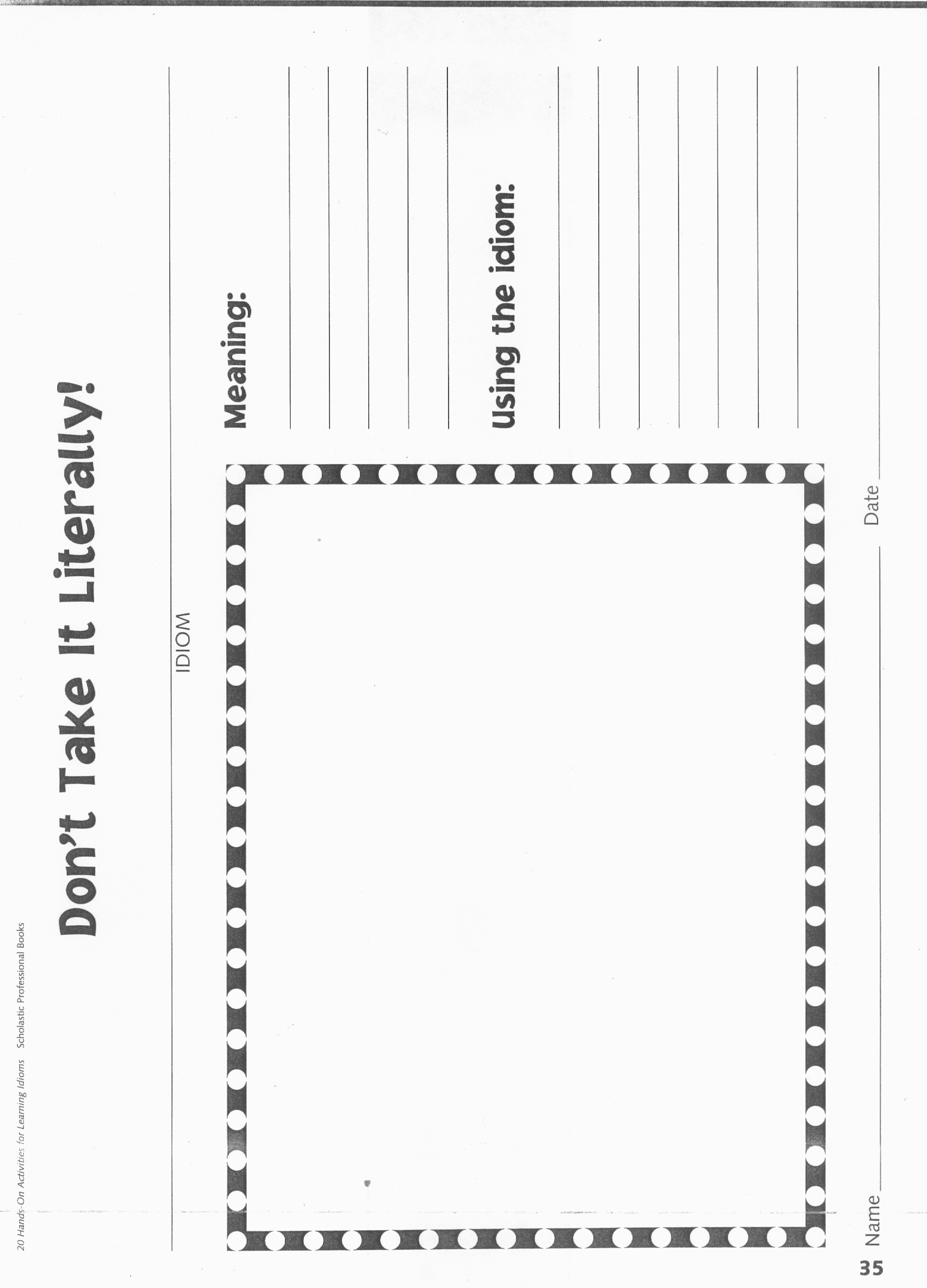 14 Best Images Of Imagery Worksheets Elementary
