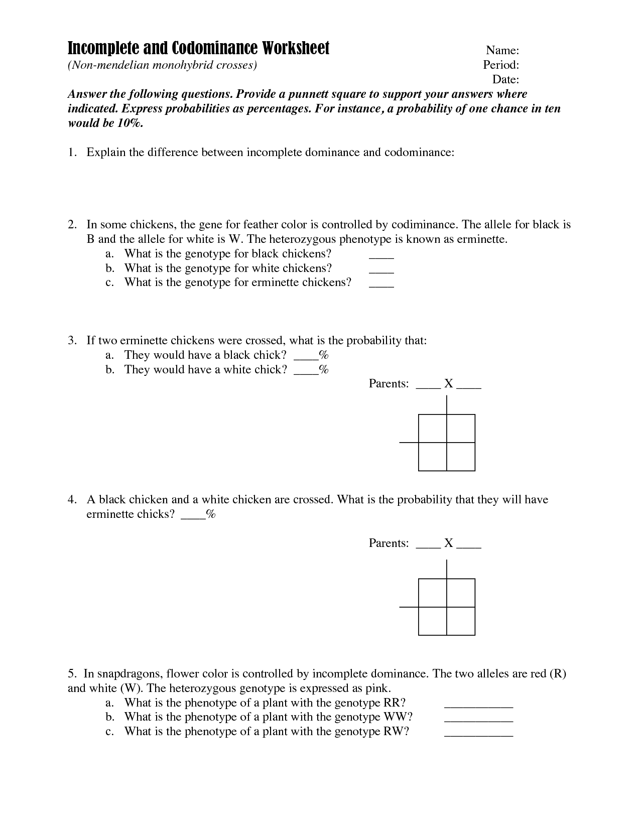 16 Best Images Of Freshman Chapter 11 Dna And Genes Worksheet Answers