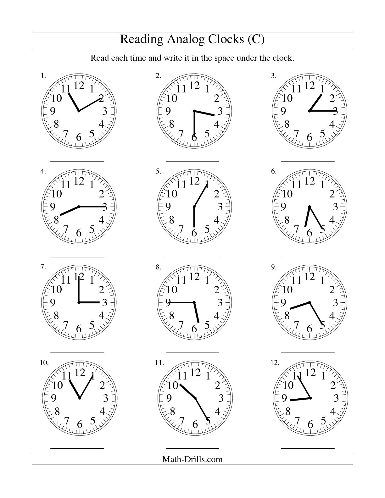 19 Best Images Of Mad Minute Multiplication Drill