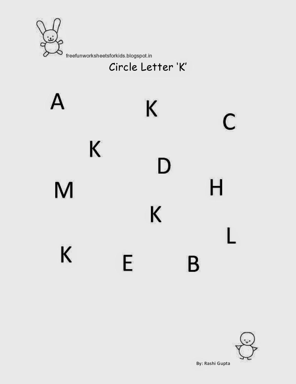 17 Best Images Of Circle The Letter S Worksheet