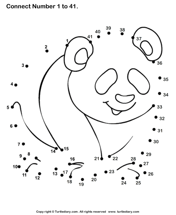 15 Best Images of Connect The Dots Kindergarten Worksheets