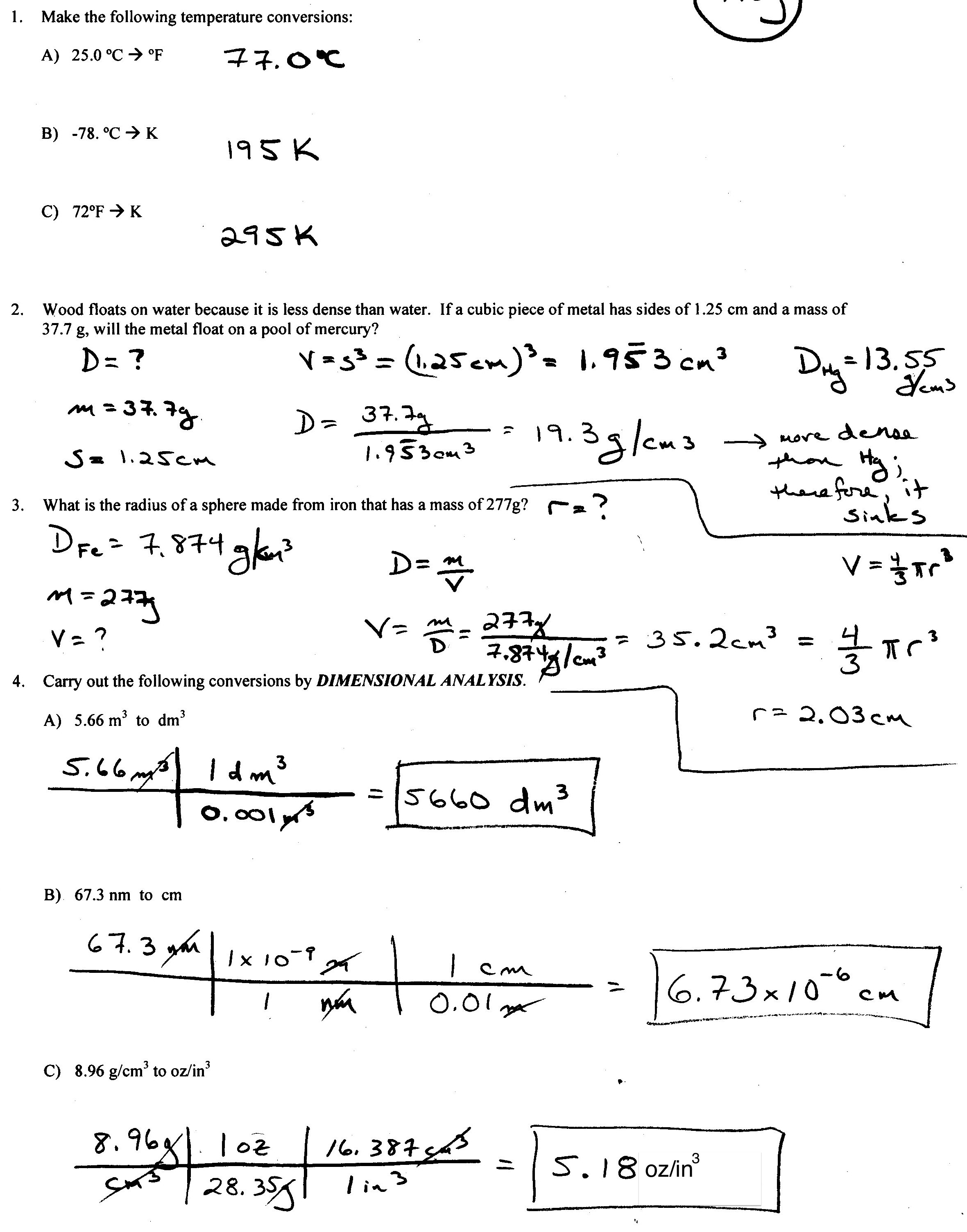 18 Best Images Of Scientific Notation Worksheet Answer Key